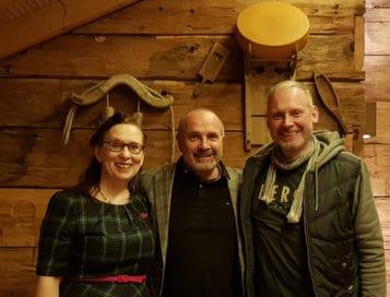 Alexander Christiani, Thomas Issler und Margit Welllenreuther