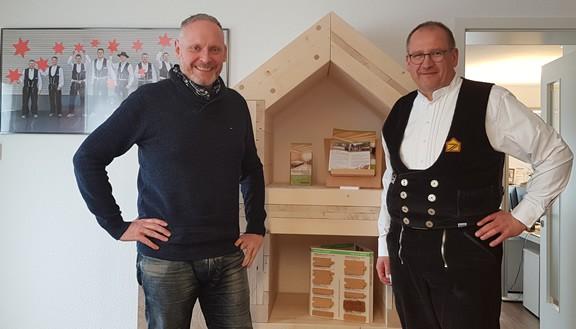 Roland Oettinger und Thomas Issler