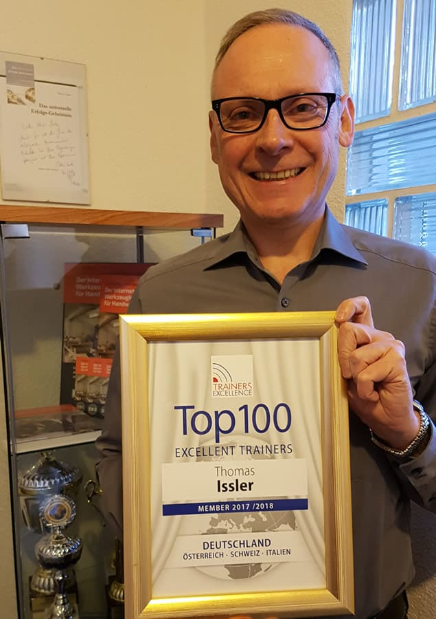 Thomas Issler ist Top 100 Trainer