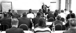 Thomas Issler bei einem Seminar
