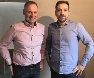Alexander Burgert und Thomas Issler beim Strategie- und Coachingtag