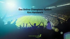 Online-Champions-System fürs Handwerk Workshop