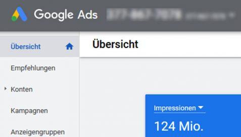 Sichtbarkeit bei Google