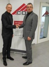 Heiko Kübler (CDH) und Thomas Issler (0711-Netz)