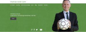 1. Entwurf Website Thomas Issler