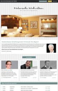 Website-Relaunch von Malerische-Wohnideen-Partnernetzwerk