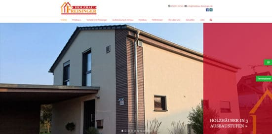 Holzbau Freisinger Relaunch
