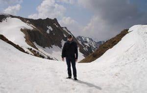 Auf dem Weg zum Nebelhorn