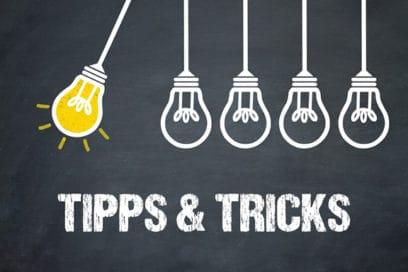Tipps und Tricks