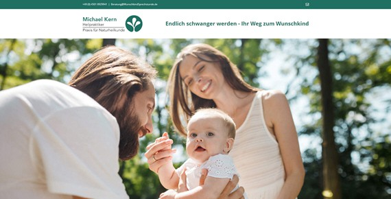 Heilpraktiker Michael Kern Wunschkindsprechstunde